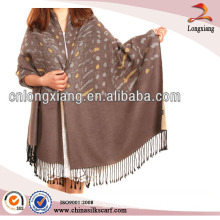 New Styles Large Jacquard Womens Pashmina Scarf and Shawl