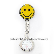 Hot Sale Medical Nurse Pocket Watch with Smiley Face