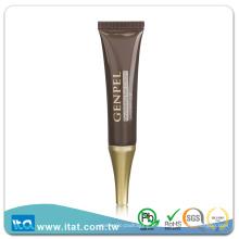 Empaquetado de plástico ecológico del tubo del apretón para la crema cosmética del ojo