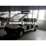 Eight Seat Low Speed Street Legal Electric Vehicles , Elect