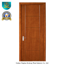 Moderne Art-feste zusammengesetzte hölzerne Tür