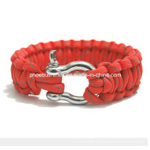 Rotes reflektierendes Armband