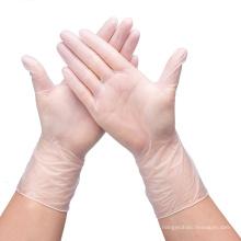 Luvas descartáveis transparentes Luvas de lavar louça em látex