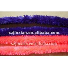 vástago de chenilla de cordón peludo