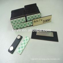 Etiquetas magnéticas y etiquetas