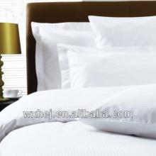 100% lençóis de algodão e fronhas com preço barato