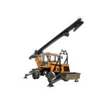 85KW-126KW Trailer Hydraulic Rotary Drilling Machine