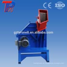 Máquina de moagem de triturador de plástico para resíduos de reciclagem de plástico rígido