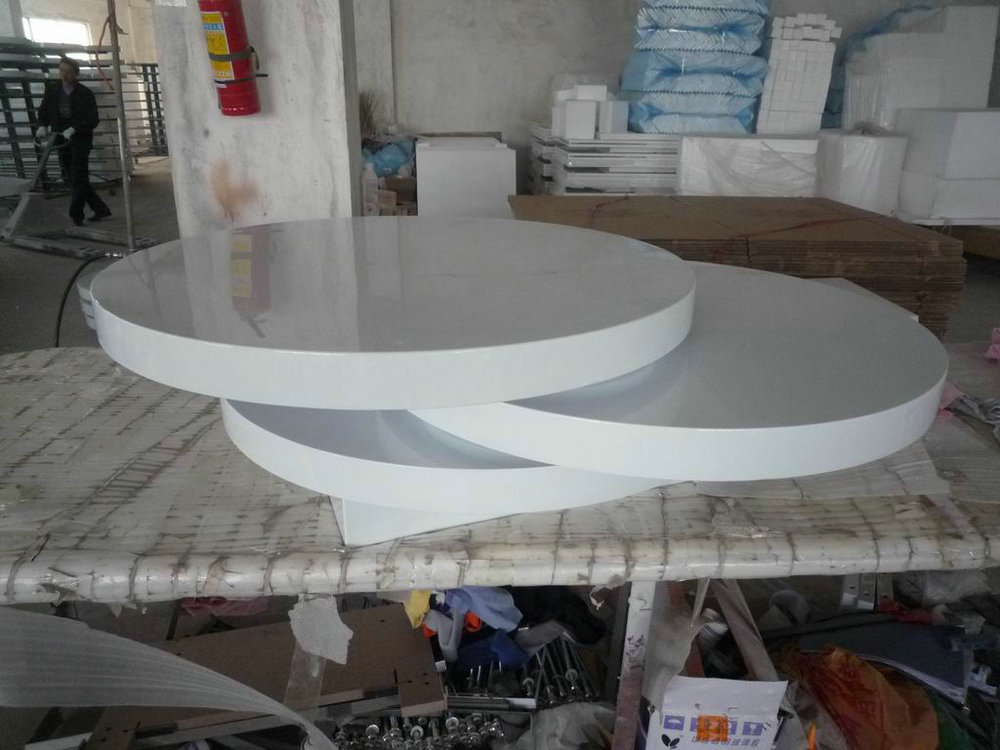 Three layer coffee table