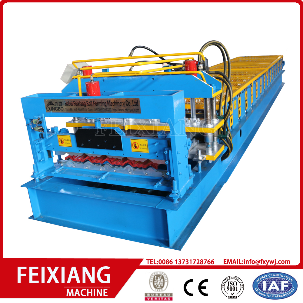 Glazed Panel Roll Forming Machine for Roofing Machine