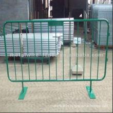 Порошковый металлический сварной барьер для контроля толпы