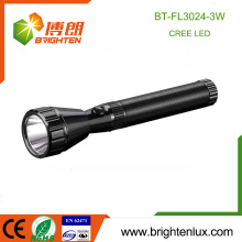 Factory Wholesale 2SC battery Used Aluminum Handheld 180 Lumen Strong Light Long Beam Rechargeab 3w Cree Police led Torch Light