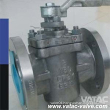 Flanged Ending Sleeve Type Sealing Plug Valve 150lb