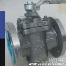 Уплотнительный пробковый клапан с фланцевым фланцем 150 фунтов