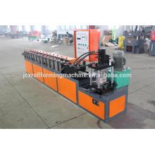Máquina de laminação de rolo de quadro de porta de garagem de aço, Máquina de fabricação de obturador de porta de garagem de metal