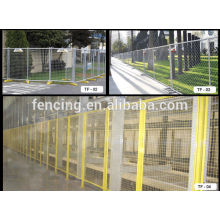 Cerca de aço soldada dos quadros do PVC do painel do metal / painéis de cerca soldados provisórios do metal para a venda (preço de fábrica)