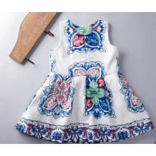 Маленькие девочки одежда Детская одежда Детская одежда платья для лето