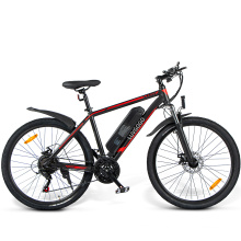 Luvgogo Fat Tyre Electric Bicycle EU Electric Mountain Bike MTB Lithium Battery Bicycle Full Suspension 48v 500w Rear Hub Motor