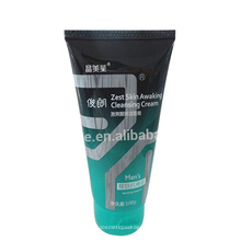 Envase de la crema de limpieza del tubo de empaquetado plástico de la crema de la limpieza 120ml