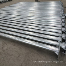 10m Galvanised Octagonal Street Light Pole for Hazakstan