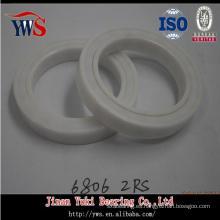 Rodamiento de cerámica del alto rendimiento de la pared fina 6806