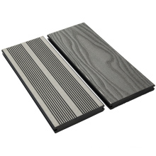 Anti-slip anti-scratch solid high strength composite flooring outdoor
