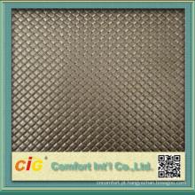 O couro o mais atrasado chinês do PVC do projeto para o estofamento