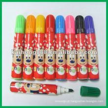 Mini caneta cor de água com cores diferentes