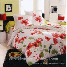 Wunderschönes Polyester bedrucktes Mikrofasergewebe für Bettwäsche mit guter Qualität zum Verkauf
