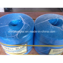Yellow Blue PP Agriculture Fibrillated Twine