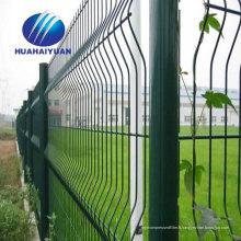 L'usine de porcelaine de barrière de fil enduite de PVC offre la barrière soudée de barrière de maille de fil