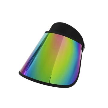 Sombrero de visera de golf de senderismo con visera arcoíris