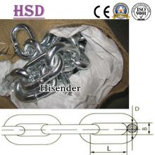 E. Gal Long, Medium, Short Link Chain Tipo común 3mm-42mm