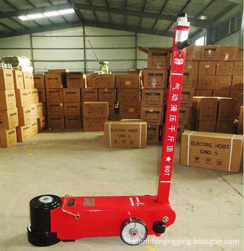 80ton air hydraulic Jack