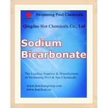 Bicarbonato de sodio de grado industrial para el producto químico del ajustador del pH del agua de la piscina
