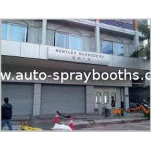 Automobile, Vehicle, Furniture Painting Down Draft Spray Booth, Room With 3 - Fold Door