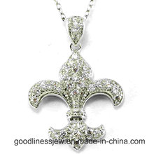 New Design and 2015 New Fashion 925 Sterling Silver CZ Pendant Wholesale P5001