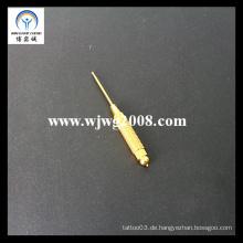 Acpuncture Gold-plattierte Federbelastete Sonde D-3