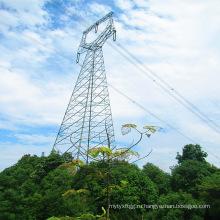 Стальная башня 220 кВ с одиночным концом совы