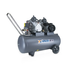 VD65-100L heavy duty belt driven type air compressor with 100l tank