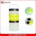 200ml Prostak Shaker Container mit 3 Behältern (KL-7050D)