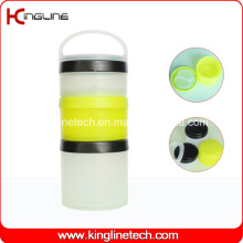 200ml Prostak Shaker Containers with 3 Containers (KL-7050D)