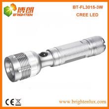 Fabrik Versorgung Hochleistungsaluminium Einstellbarer Strahl 3watt XPE R2 Cree Fackel Taschenlampe geführt
