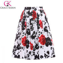 19 Colors ! Grace Karin Cheap Occident Short Vintage Cotton 50s Retro Skirt CL6294-12#