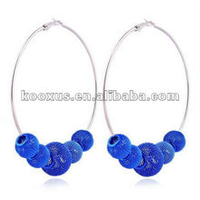 China Yiwu Market shamballa earrings