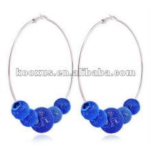 China Yiwu Market shamballa earrings