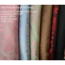 Jacquard poly-viscose pour garnissage