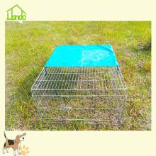 Anti-corrosion folding rabbit cage chicken cage