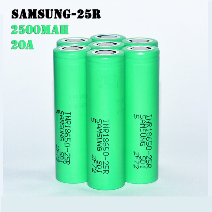 Samsung 25r 2500mah 18650 3.7v Battery