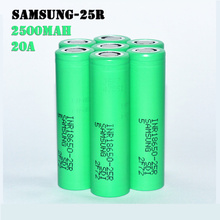 18650 Samsung 25r 2500mah 3.7V batteri